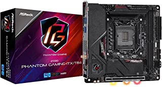 ASRock Intel 第10・11世代CPU(LGA1200) Z590 チップセット Mini-ITX マザーボード 【国内正規代理店品】 Z590 Phantom Gaming-ITX/TB4