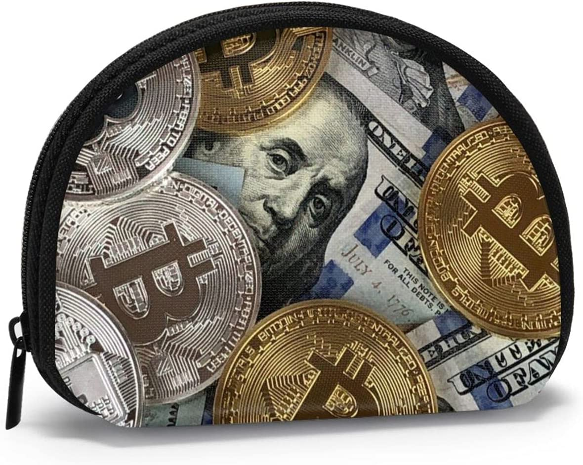 Women Change Coin Purse Hundred Money Bitcoin Girl Coins Dollars Free shipping anywhere in the nation Max 45% OFF