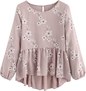 aa87dd8a Amazon.ca: Pink - Blouses & Button-Down Shirts / Tops & Tees ...