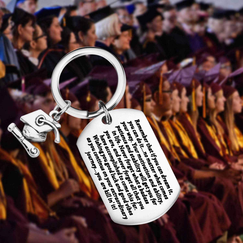 Lywjyb Birdgot Graduation Gifts Graduates Keychain High School ...