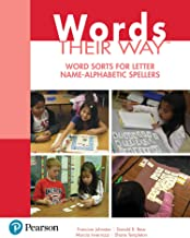 Words Their Way: Word Sorts for Letter Name - Alphabetic Spellers (2-downloads) (Words Their Way Series)