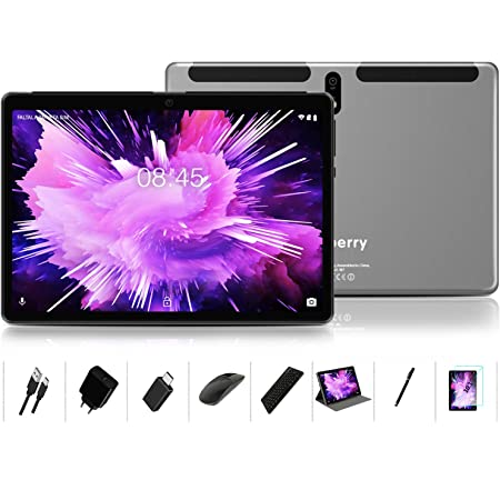 """Android 10.0 Tablet : MEBERRY 10"""" Ultra-Fast 4GB/RAM,64GB/ROM Tablets-8000mAh Battery-WiFi Support - Bluetooth Keyboard 