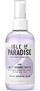 Isle of Paradise Fake Tan Water Dark (200 ml) Hydrating Self Tanning Water Natural Ingredients & Vegan