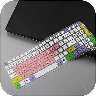 for Acer Predator Helios 300 15.6インチ17.3インチG3-571 G3-572 PH315-51 PH317-52 VX5-591G VN7-793Gノートパソコンのキーボードカバースキンプロテクター-cand...