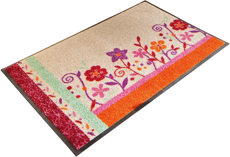 Wash+dry Wash+dry Wash+dry Fußmatte natur bunt Größe 50x75 cm B006Z61JJO 3e4247