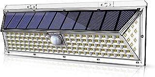 VOSONX Solar Lights Outdoor, Super Bright LED Solar Motion Sensor Lights Outdoor ,IP65 Waterproof Solar Flood Powered Secu...