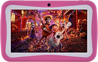 7 inches Kids Tablet PC, Android 5.1 8GB ROM 1GB RAM Tablets with Dual Camera WiFi USB Phablet (Pink)