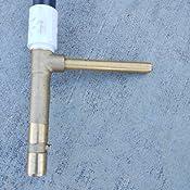 Watermaster Underground 51031 Llave De Acoplamiento Rapido De Laton De 3//4 P...