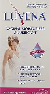Luvena Vaginal Moisturizer & Lubricant 6ct 2 Pack