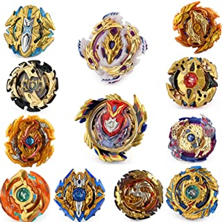 Gyros 12 Pack Toys for Kids,Bey Battle Burst Gyro Blades Evolution Metal Fusion Attack Top Set, School Gift Idea Toys for ...