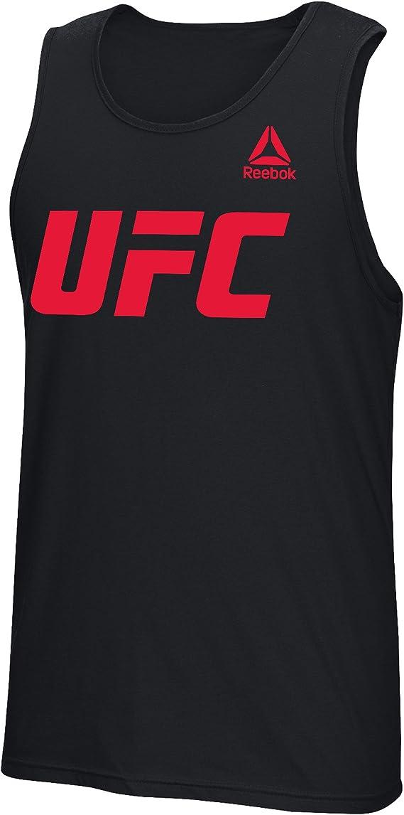 UFC Essentials Logo Dual Blend V-Neck Tee