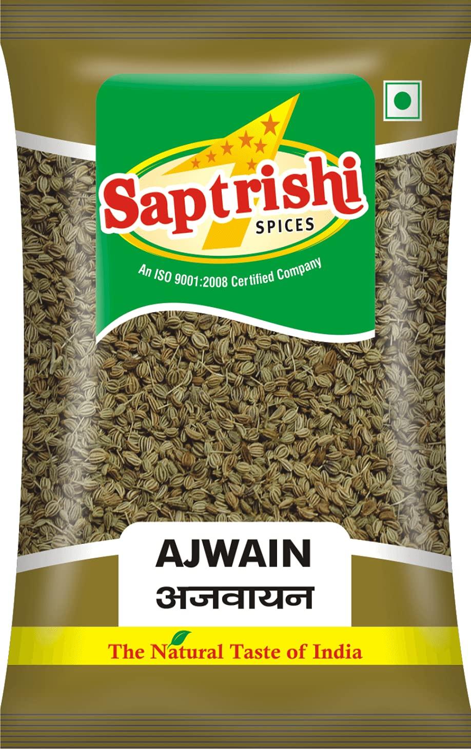 Saptrishi Ajwain Seeds Indian Bombing free shipping Seasoning Spices 100 herbs Long Beach Mall Gram