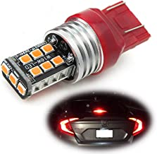iJDMTOY (1) Strobe/Flashing Feature Red 15-SMD LED Replacement Bulb For 2012-up Honda Civic Sedan Third Brake Light.