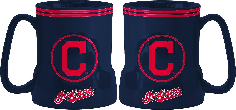 Boelter Brands  Cleveland Indians Coffee Mug  18oz Game Time