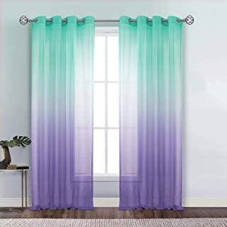 Dreaming Casa Ombre Sheer Curtains, Kids Curtains Room...