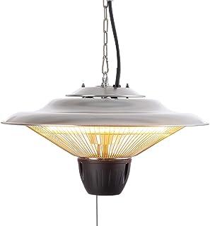 Arebos infraröd takljusstrålare | 1500 W | stänkskydd IP34 | riktad värmeavledning