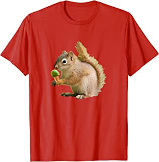 Mint Ice Cream Funny Squirrel T-Shirt Gift
