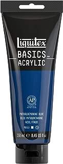 Liquitex BASICS Acrylic Paint, 8.45-oz tube, Phthalocyanine Blue