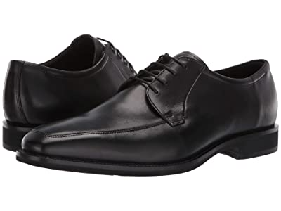 ECCO Calcan Apron Toe Tie (Black) Men