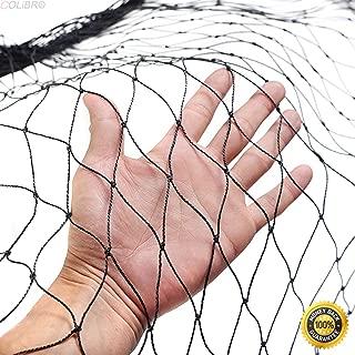 COLIBROX--Anti Bird Netting 50'X50' Soccer Baseball Game Poultry Fish Net 2