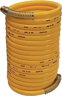 200-Foot Length 3//8-Inch ID Transparent Yellow No Fittings Coilhose Pneumatics PFE6200TY Flexeel Reinforced Polyurethane Air Hose
