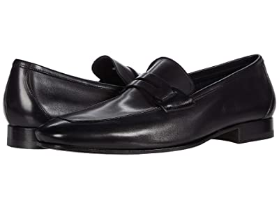 Canali Penny Loafer (Black 2) Men