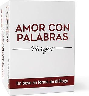 AMOR CON PALABRAS - Parejas | Juegos de Mesa para Dos Personas Que fortalecen Las relaciones convirtiéndolos en inmejorables Regalos para Parejas
