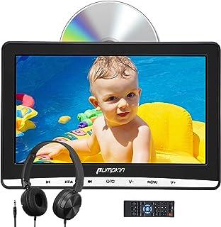 Pumpkin 12 Pouce Lecteur DVD pour Voiture Enfant avec Cable AV et Ecouteur Ecran..