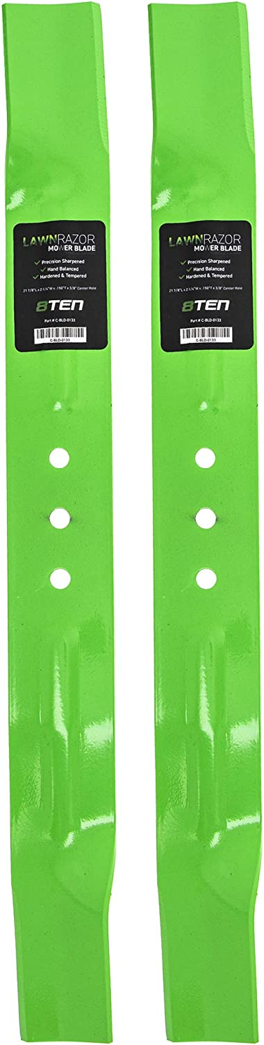 8TEN 25% OFF LawnRAZOR Mower Blade 21 Dealing full price reduction inch Briggs Murray Ultra for Deck