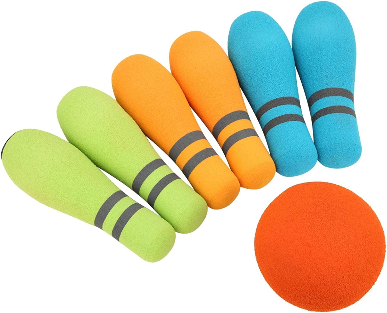 QYSZYG Bowling Toy Soft Houston Mall Max 78% OFF Foam Noiseless Safe Indo EVA