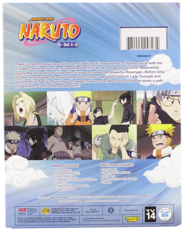 Naruto: Set 4 (Blu-ray)