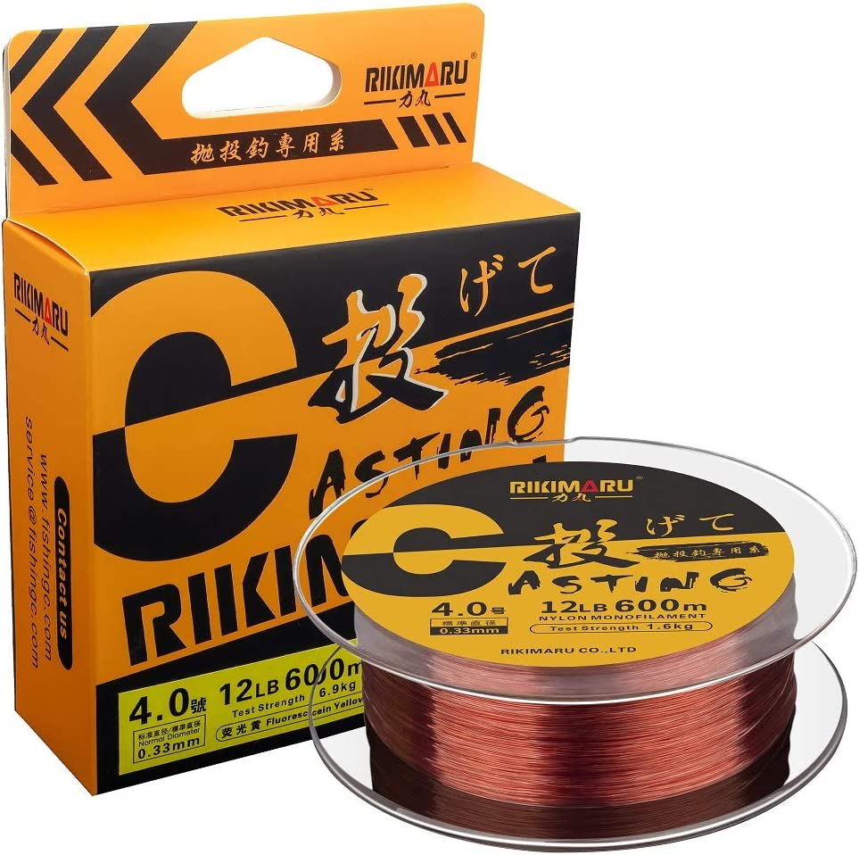 Milwaukee Mall RIKIMARU Premium Monofilament Fishing Line-Strong R Abrasion Be super welcome and