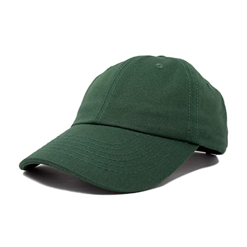 4236208fb7360 DALIX Baseball Cap Dad Hat Plain Men Women Cotton Adjustable Blank  Unstructured Soft