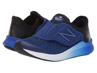 New Balance Kids Fresh Foam Fast (Little Kid) (Black/UV Blue) Boys Shoes