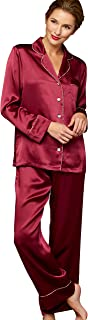 Women's 100% Silk Pajamas, Relaxed Fit, Paradise Found Collection, Sleepwear, Beautiful Gift Packaging