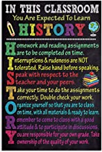 Rules in History Classroom Gifts for Lovers Poster Poster Home Art Wall Posters [No Framed]