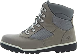 Kids Timberland Boys 6 Inch Field Boot Leather Ankle Lace Up Fashion Boots