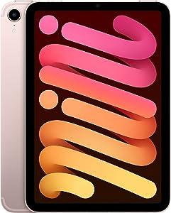 2021 Apple iPad Mini (Wi-Fi + Cellular, 64GB) - Pink