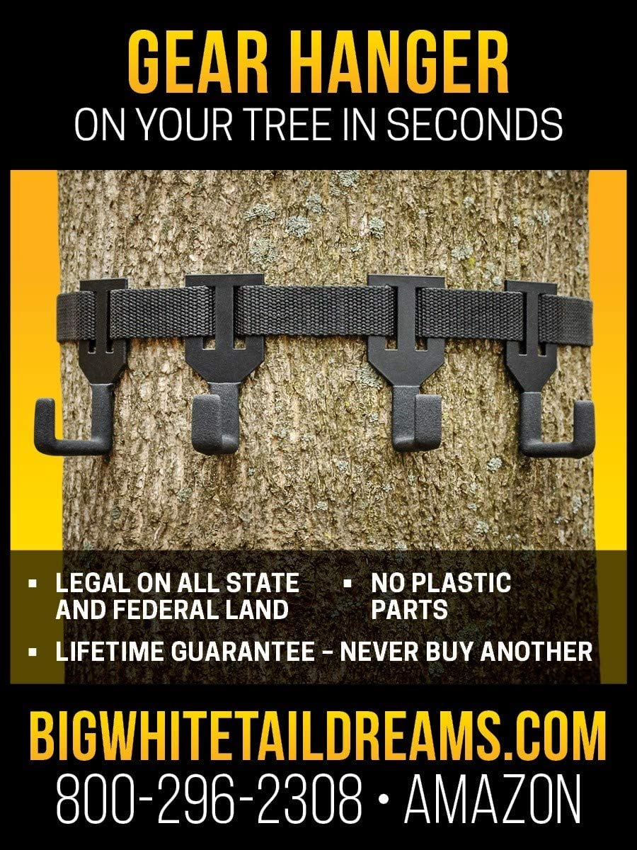 TREESTAND Minneapolis Mall Max 66% OFF Gear Hanger - Coated Hangers to Noise Eliminate No and