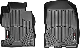 WeatherTech Custom Fit Front FloorLiner for Honda Civic, Black