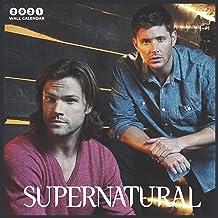 "Supernatural 2021 Wall Calendar: Supernatural TV Show - 2021 Calendar 8.5"" x 8.5"" - glossy finish"