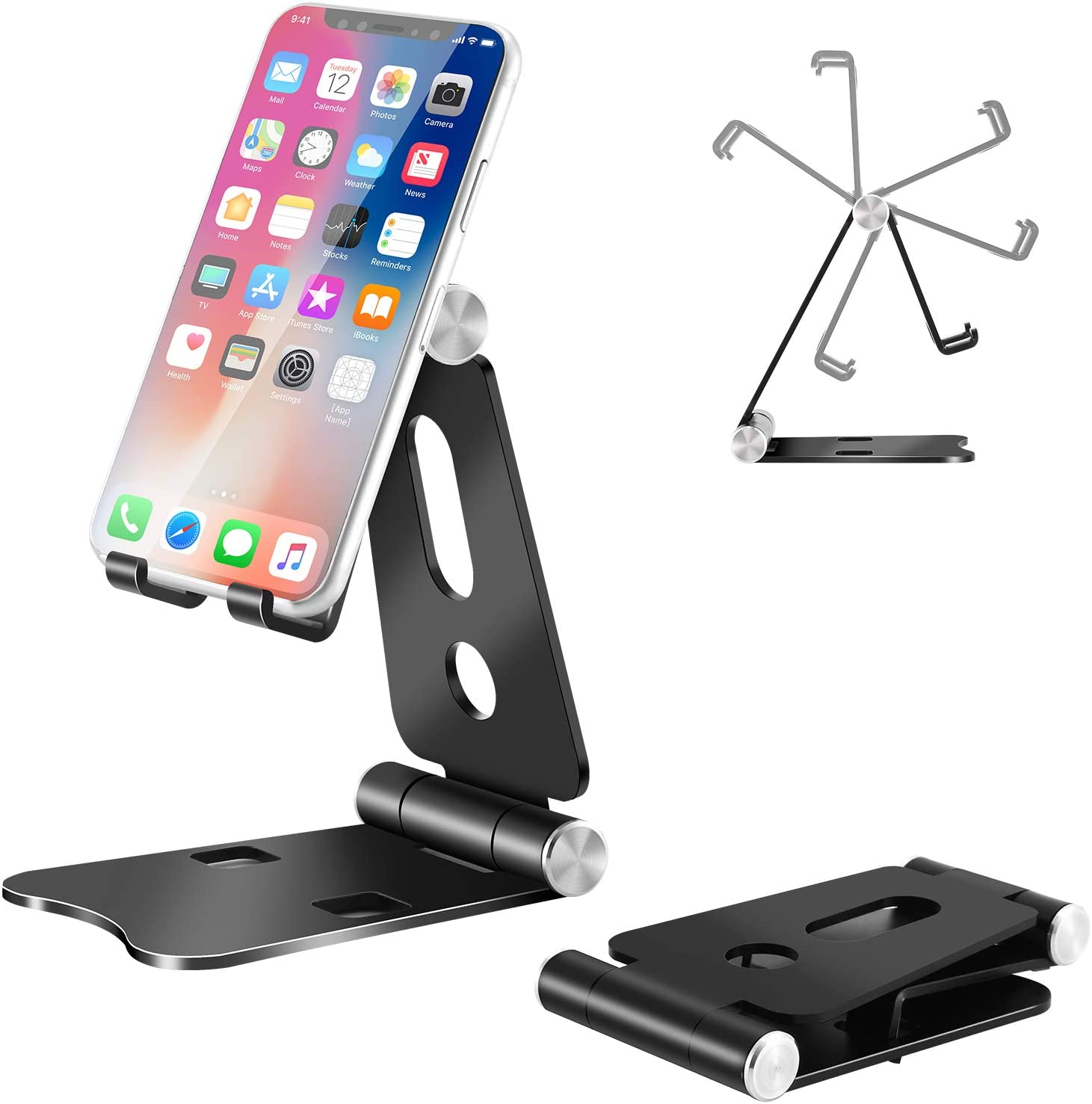 Max 83% OFF Challenge the lowest price Cell Phone Stand Foldable Holder Alumin Desk for C2