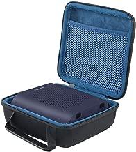 co2crea Hard Travel Case for Bose SoundLink Color 2 Bluetooth Speaker II (Black Case + Inside Midnight Blue)
