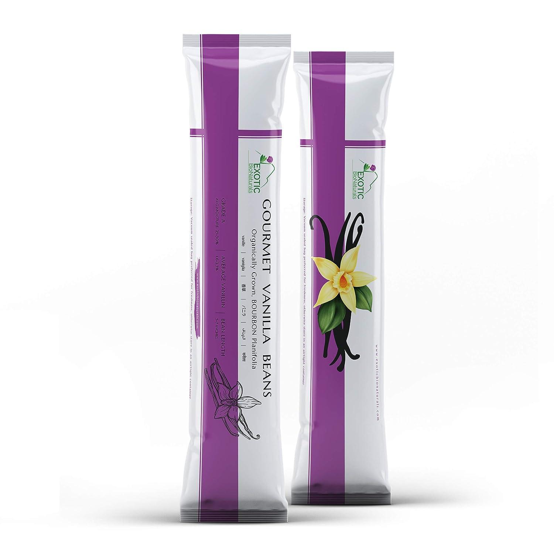 VANILLA - 50 Pods of Grade Super beauty product restock quality top! Planifol Organically Grown Bourbon A Japan Maker New