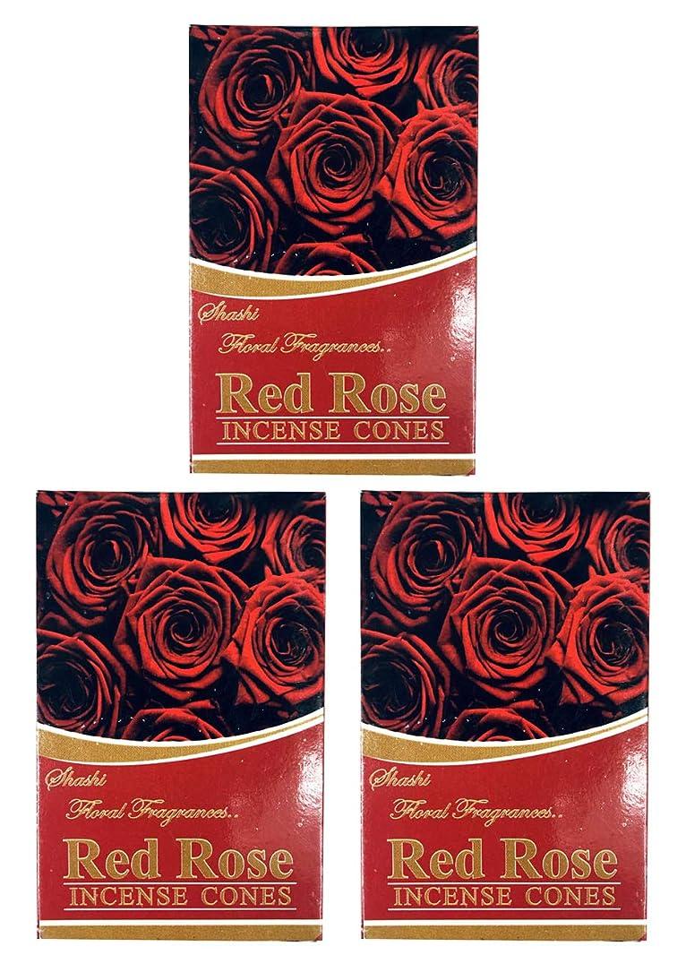 深く敷居規則性ローズ ROSE お香 インセンス お線香 コーンタイプ 【まとめ買い3個パック】香り(アロマ)でリラック効果