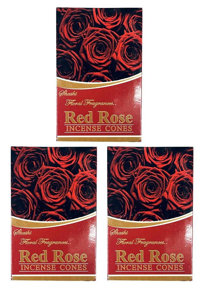 寛大な気味の悪いレタッチローズ ROSE お香 インセンス お線香 コーンタイプ 【まとめ買い3個パック】香り(アロマ)でリラック効果