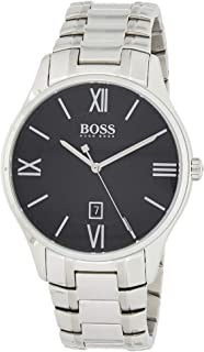Hugo Boss Black Men'S Black Dial Stainless Steel Watch - 1513488