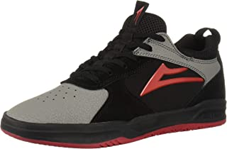 Lakai Footwear Proto Black/Grey Suedesize Tennis Shoe,
