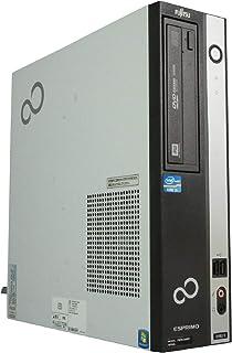 中古パソコン Windows10 デスクトップ 一年保証 富士通 ESPRIMO D582/E(EX) Core i5 3470 3.2(~最大3.6)GHz MEM:8GB HDD:640GB DVD-マルチ Win10Pro64Bit
