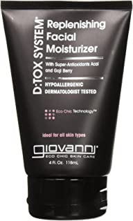 Giovanni Detox System Face Moisturizer, 4 Ounce - 2 per case.